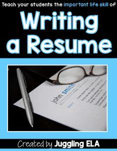 How to write a education resume